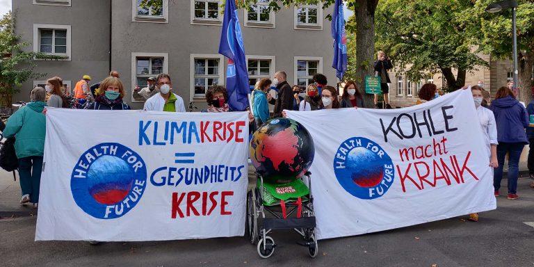 Health for Future Göttingen - Demo Kohle macht krank