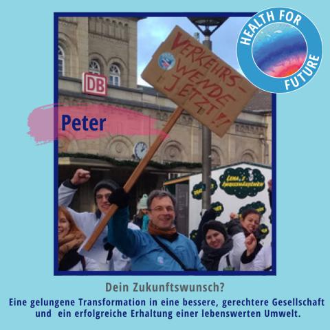 Peter - Health for Future Göttingen
