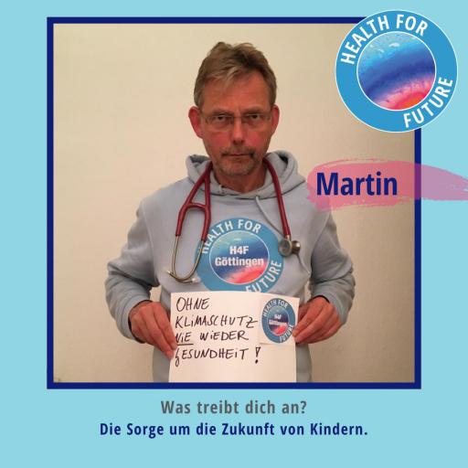 Martin - Health for Future Göttingen